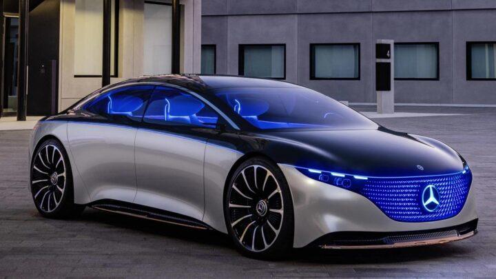 Mercedes'ten Tesla'ya rakip süper elektrikli otomobil