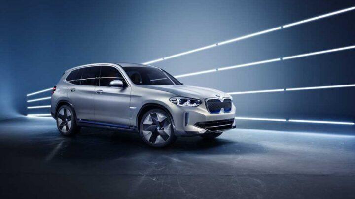 BMW, elektrikli SUV modeli iX3'ün üretimine Çin'de başladı